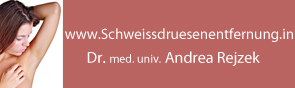 Schweißdrüsenentfernung: Dr. med. Andrea Rejzek Wien